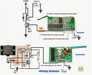 Wireless Home Security Circuit