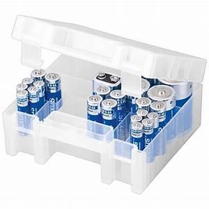 La Boite A Pile : boite de rangement pour 31 piles aa aaa c d 9v pile ~ Dailycaller-alerts.com Idées de Décoration
