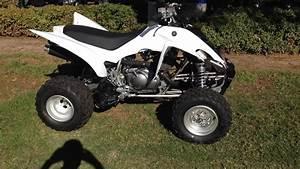 2013 Yamaha Raptor 350 White