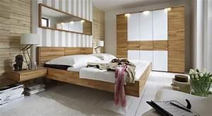 Modernes komplett schlafzimmer aus kernbuche rosso for Modernes schlafzimmer komplett