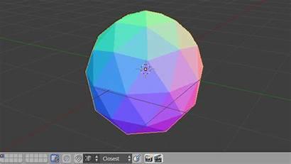 Sphere Ico Icosahedron Icosphere Sides Blender Rotate