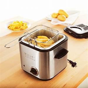 Friteuse electrique petit modele table de cuisine for Petit appareil electrique cuisine
