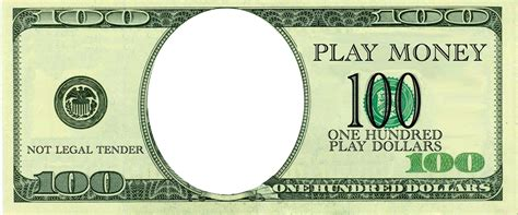 Play Money Template Free 100 Dollars Play Money Templates At