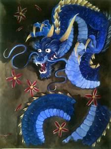 Japanese Dragon Painting | Liam Ryan | Foundmyself