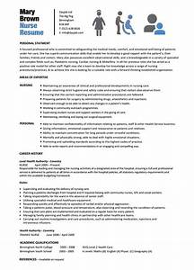 10 nursing resume template free word pdf samples With free nursing resume templates