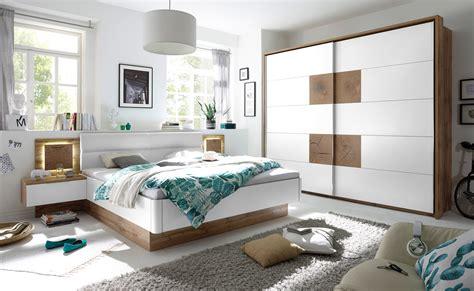 Schlafzimmer Komplett Set 4tlg Capri Bett 180
