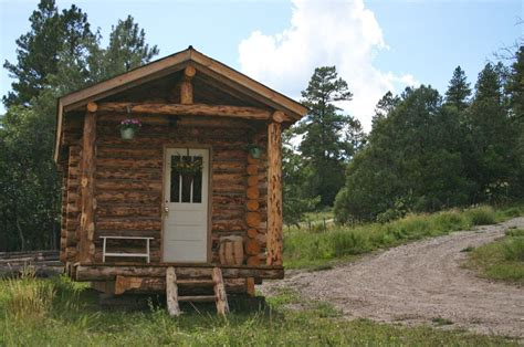 Cabin Logs by Tiny Log Cabin By Jalopy Cabins