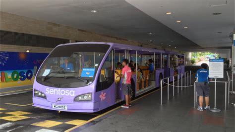 singapore santosa beach tram volvo bblea articulated bus youtube