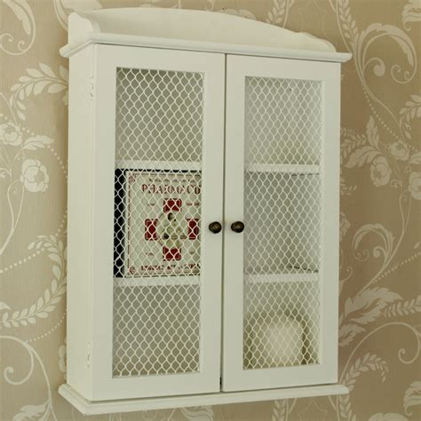 small white bathroom wall cabinet small white mesh fronted wall cabinet melody maison