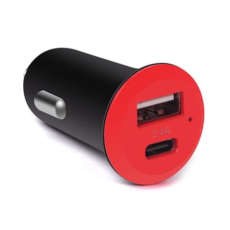 Portable Usb Type-c Car Charger Cigarette Charger With
