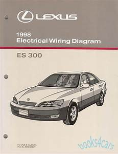 Shop Manual Es300 1998 Lexus Book Electrical Service Repair Wiring Diagram