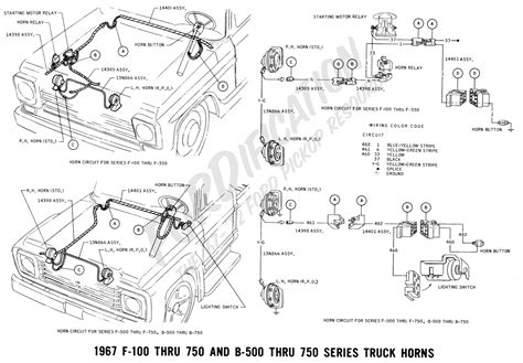 1966 Ford F100 Horn Diagram by 2007 Mustang Horn Fuse Diagram Wiring Library