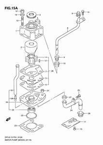 Water Pump For 2008 Suzuki Df15