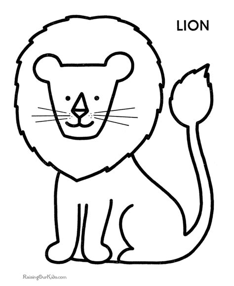 printable coloring pages  toddlers coloring home