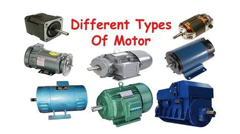 Types Of Electric Motor by Types Of Motors Ii Electrical Technology Ii Part 12 Ii