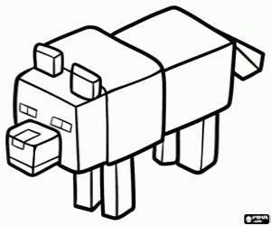 Ausmalbilder Minecraft Malvorlagen