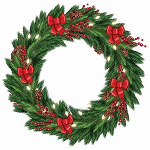 Free Christmas Wreath Graphic from TradigitalArt ...