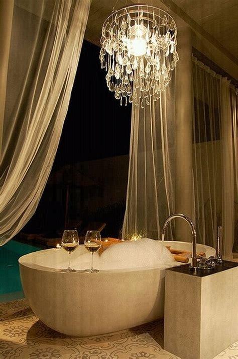 ideas  preparing  romantic bath decoration becoration