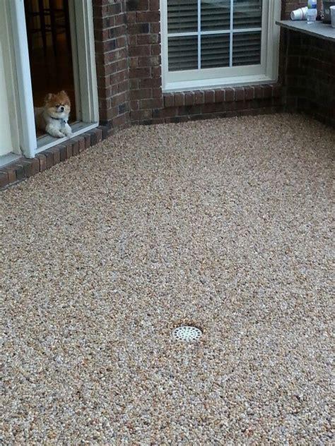epoxy flooring for patio epoxy pebble patio floor porches pebble patio patio and epoxy