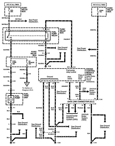 Isuzu Rodeo Schematic by 1999 Isuzu Rodeo With 2 2 Eng No Power On Either Side Of