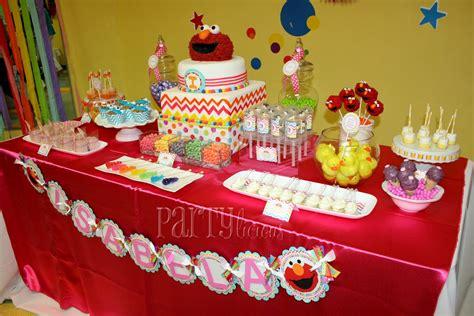partylicious  pr rainbow elmo birthday