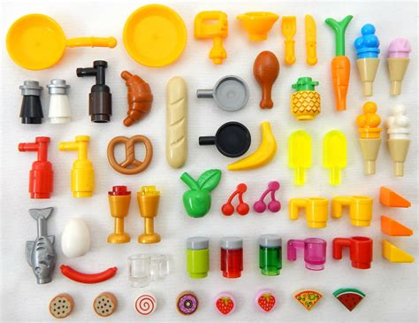 lego kitchen accessories 50 lego food drink lot new parts accessories for 3712