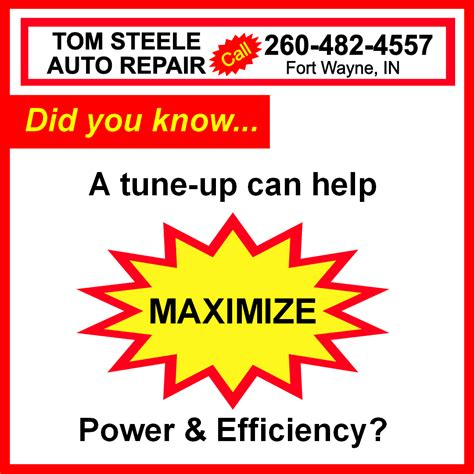 steele tom area tire service tune call appointment setup easy today