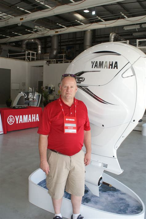 yamaha president weighs   size   outboard trade