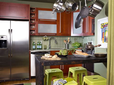 kitchen ideas for small space small kitchen design ideas pictures hgtv