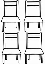 Chair Coloring Pages Chair7 sketch template