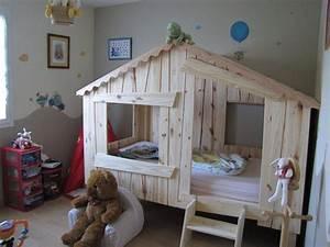Lit Cabane Pour Enfant : lits cabanes ~ Teatrodelosmanantiales.com Idées de Décoration