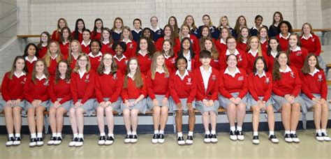 students inducted  national honor society st