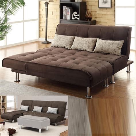 sectional sofa with sleeper bed brown microfiber 2 pc sectional sofa futon couch chaise
