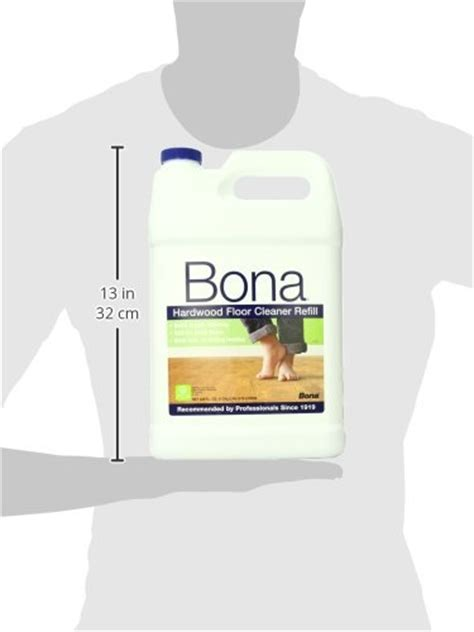 bona floor cleaner refill bona hardwood floor cleaner refill 128 oz clear import