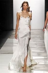 100 bridal looks from the spring 2016 runways carolyn for White silk slip wedding dress