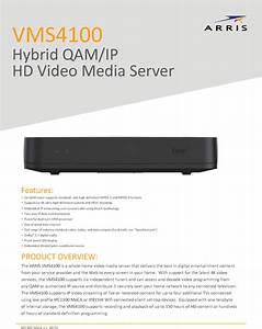 Arris Vms4100v1 Hybrid Qam  Iphd Video Media Server User