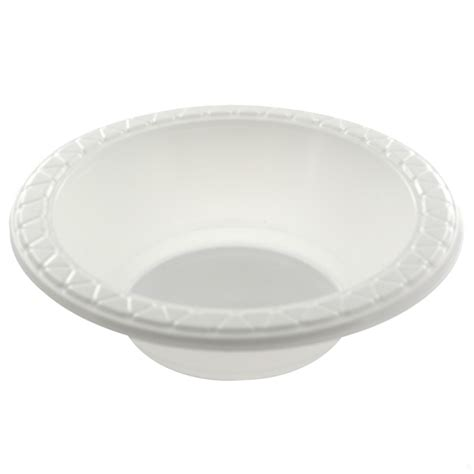 small white plastic bowls pk50 cheap plastic bowls