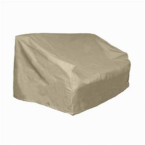 hearth garden polyester patio loveseat and bench cover With polyester patio furniture covers