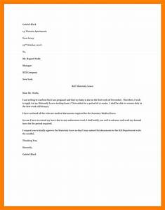 maternity leave letter to employer kaysmakehaukco With letter of maternity to employer template