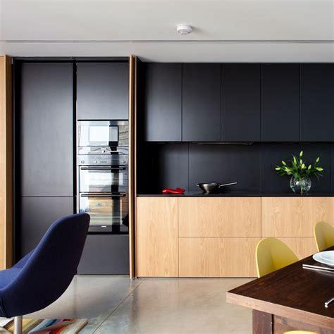 kitchen design black black kitchen trend 2018 ideal home 1105