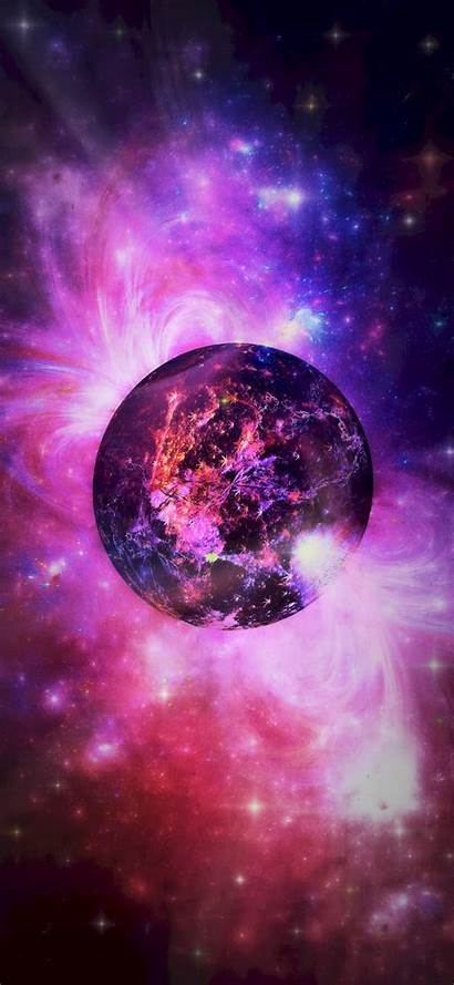 Space Colorful Planet 180 Phone Background 1080