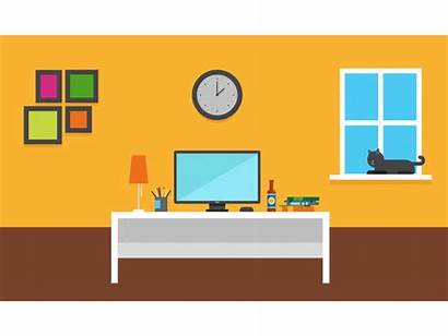 Office Illustration Offices Cool Template Modern Dribbble
