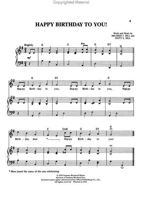 High quality and interactive transpose it in any key change the tempo easy play. free download piano sheet music happy birthday i pdf - Penelusuran Google | Stuff to Buy ...