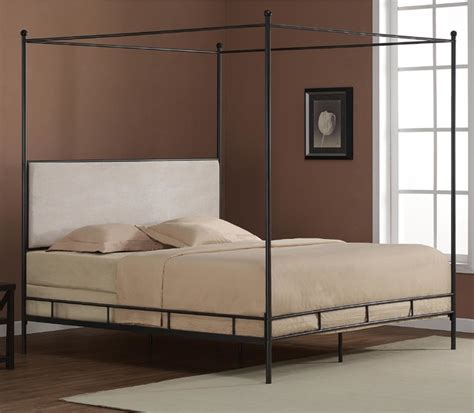 contemporary canopy bed lauren king metal canopy bed contemporary canopy beds by overstock com