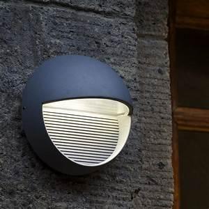 Led Außenleuchte Anthrazit : led design aussenleuchte in silber oder anthrazit 9watt led wohnlicht ~ Watch28wear.com Haus und Dekorationen