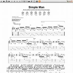Simple Man Guitar Tab | Music... Lynard Skynyrd ...