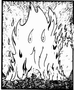 Elemental  Fire  From The 1st Edition Monster Manual