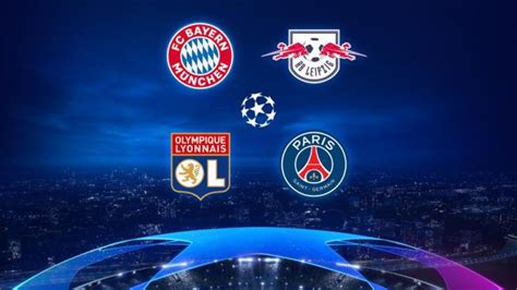 Master one, or master them all. Semifinales de Champions League 2020: Bayern, PSG, Leipzig ...
