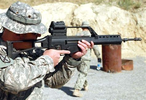 heckler koch hk  assault rifle assault carbine image pic