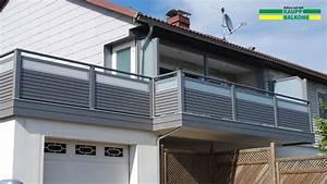 Balkongeländer Glas Anthrazit : alubalkon balkongel nder aus aluminium nie wieder streichen ~ Michelbontemps.com Haus und Dekorationen